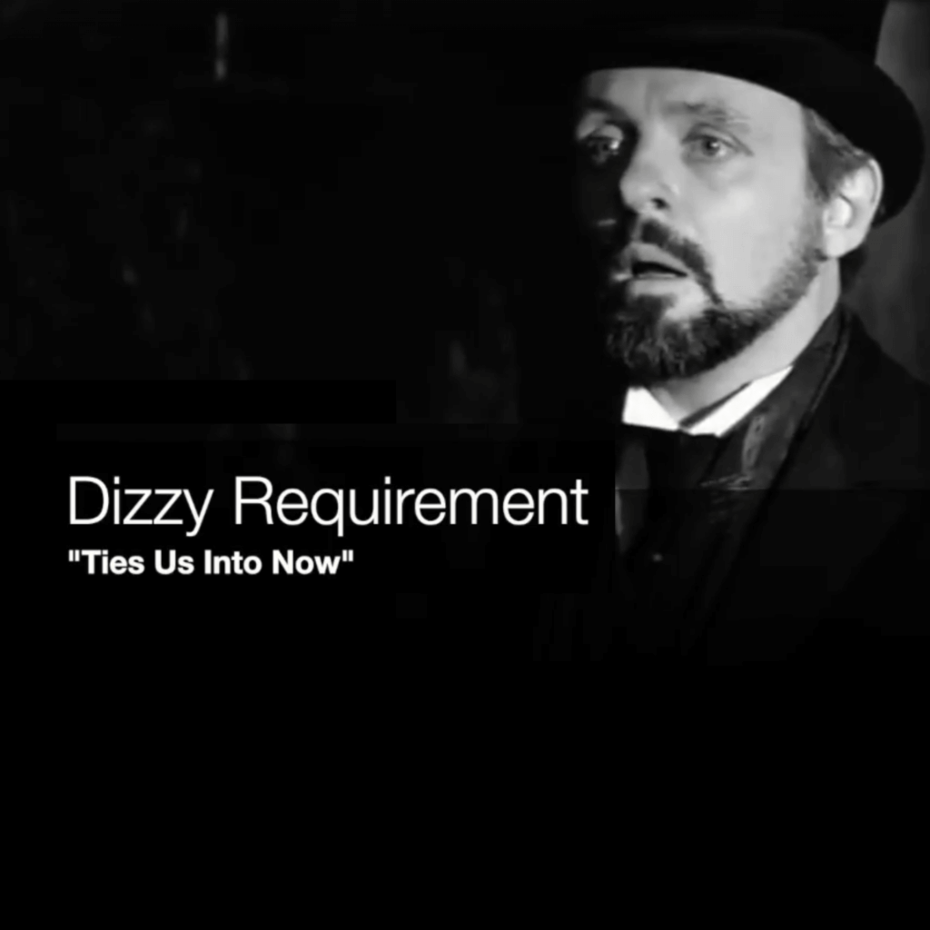 Dizzy Requirement ties us into now cover jacket